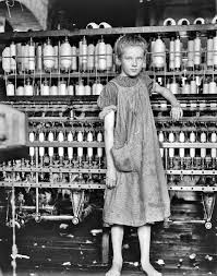 this photo is part of a collection from lewis hine who documented