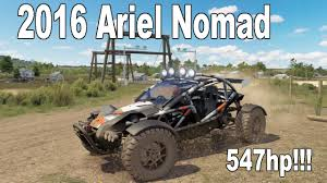 nomad off road car forza horizon 3 ariel nomad 547hp build and tune rally youtube