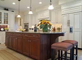 houzz kitchens with islands kitchen islands bigger and harder working