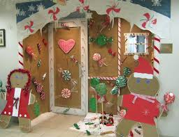 Decorating Ideas For Office Holiday Door Decorations For Work Easy Christmas Door Decorating