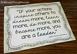 quotes about leadership and helping others bosses vs leaders lesson freebies 3rd grade thoughts