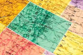 Colorado 14er Map by How The 14ers Got Their Names Part 1 Outthere Colorado