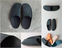Leather Bedroom Slippers Best 25 Leather Slippers Ideas On Pinterest Handmade Leather