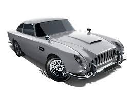 mattel wheels diecast car aston martin 1963 db5 2014 grey