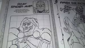 ep 2 the amazing spider man jumbo coloring book youtube