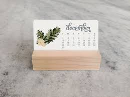 small desk calendar 2017 2017 mini desk calendar with wood stand monthly calendar stocking