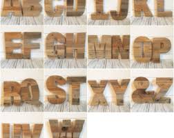 Barn Wood Letters Reclaimed Wood Letters Etsy