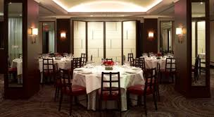 private dining room interior of daniel restaurant new york