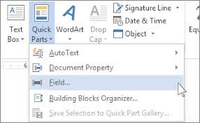 Count Word In Document Insert The Word Count In Your Document Word