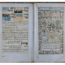 simple haggadah in this haggadah from bagdhad 1875 each paragraph of hebrew is