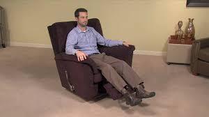 Lazy Boy Chair Repair Simple Operation Of A La Z Boy Reclina Rocker Chair Footrest Youtube