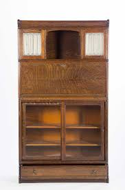 wernicke stacking oak bookcase