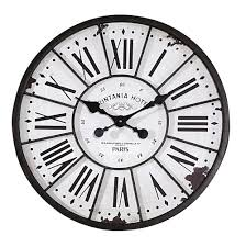 amazing white wood wall clock 106 white wooden distressed wall