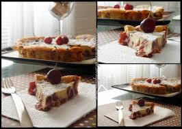 cherry clafoutis the novice housewife