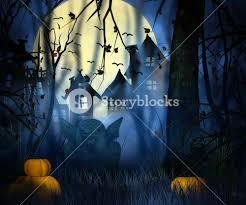 scary night halloween backdrop royalty free stock image storyblocks