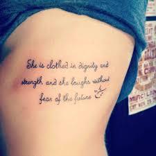 tattoos bone best bible verses tattoos about strength