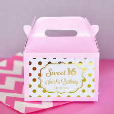 sweet 16 favor ideas sweet 16 party favors boxes sweet 16 birthday favors sweet