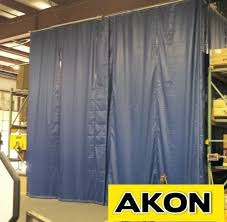 Door Draft Curtain Industrial Warehouse Draft Curtains Akon U2013 Curtain And Dividers