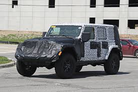 2018 jeep wrangler interior spied for first time autoguide com news