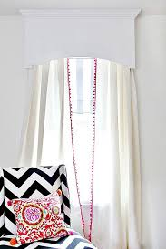 Cornice Curtains 15 Diy Projects To Decorate Your Windows