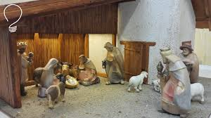 nativity scene out of wood part 2 of 3 stable youtube