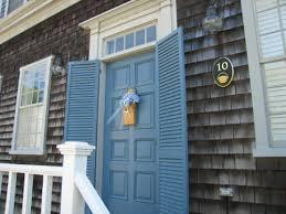 nantucket green paint color newport blue mhc 6 on the front door
