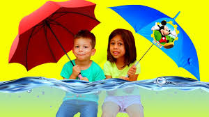 learn colors with umbrella for babies johny johny yes papa song