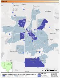 Dallas Texas Zip Code Map by Where Is Zip Code 75287