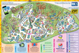 Canada S Wonderland Map by Kings Island Historical Maps Cp Food Blog