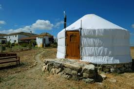yurt unique accommodation suryalila yoga retreat centre