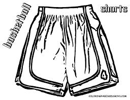 basketball shorts clipart 13