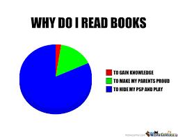 Meme Books - why do i read books by sharp vlade69 meme center