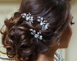 wedding hair pins wedding hair pins etsy