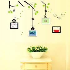 wall ideas family frames wall decor family tree picture frame 1pcs pretty family photo frame flying birds tree wall stickers arts home decorations bedroom decals posters pvc wall decoration family tree wall decor with
