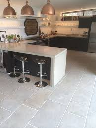 grey kitchen floor ideas best 25 limestone flooring ideas on shaker kitchen
