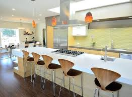 backsplash for yellow kitchen yellow kitchen tiles large galley wood floor and brown floor