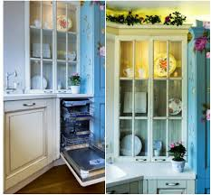 the interior of the kitchen in the style of provence home