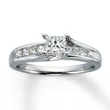 white gold princess cut engagement ring free rings jared engagement rings jared