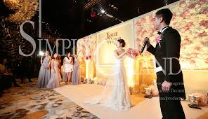 wedding backdrop hk pink elegance