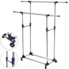 2way industrial pipe clothing rack i decided i needed something