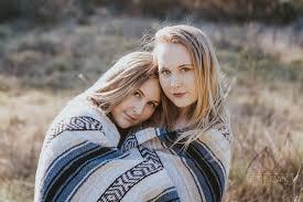 twin sister boho photo shoot monterey california