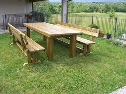 panchina in legno da esterno panchina in legno da giardino tavoli e panche da esterno