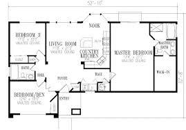 2 bedroom ranch floor plans unique 2 bedroom house plans 3 bedroom open floor house plans ideas