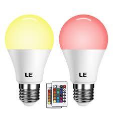 2er 6w rgb e27 led lampen a60 birne fernbedienung inkl dimmbar le