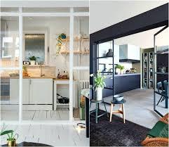 cloison vitree cuisine cloison vitree cuisine salon porte vitree pour meuble 2 une