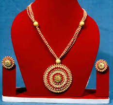 jute ornaments jute jewellery ornaments costume jewelry
