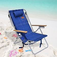 Rio 5 Position Backpack Chair Cooler Pouch Beach Chair Tommy Bahama Beach Chair With Cooler