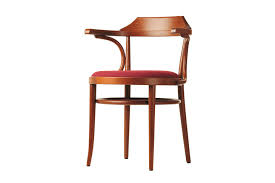 Thonet Bistro Chair Traditional Chair With Armrests Upholstered Fabric 233