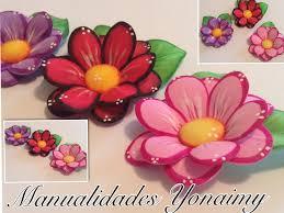 flores de foamy flores dobles de foamy o goma eva con termoformado youtube