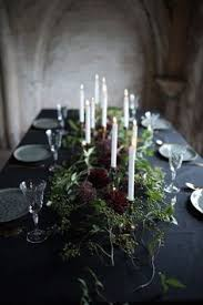 sultry dark floral wedding ideas to spice things up black